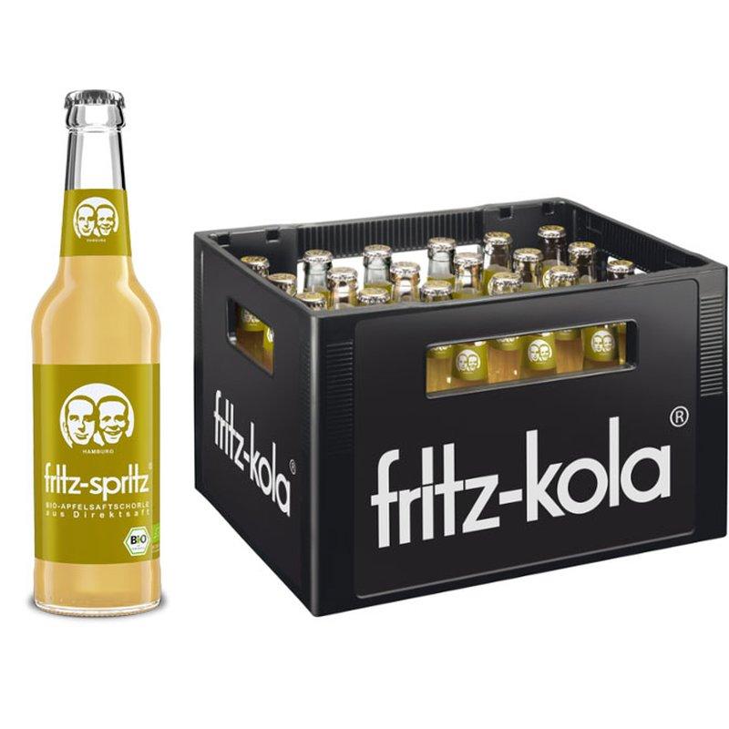 Kiste Fritz-Spritz Bio Apfelsaftschorle