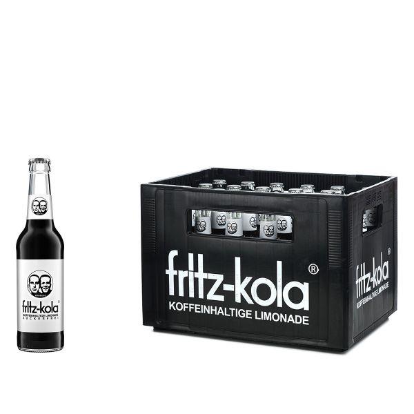Kiste Fritz-Kola ohne Zucker